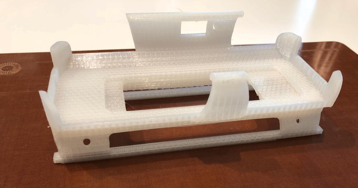 Impression d'un prototype sur l'imprimante 3D